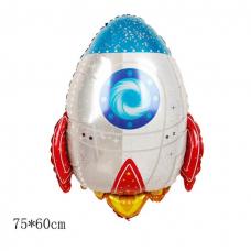 """Шар ( 75/60 см) Фигура"""" """"Ракета"""""""