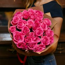 25 роз (70 см)