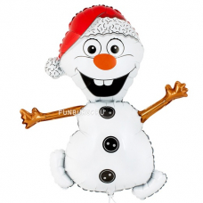"Шар (32""/81 см) Фигура, Снеговик"