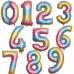"""Цифра 42""""/102см """"Градиент"""" (В ассортименте)"""