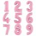 """Цифра 42""""/102см """"Розовый"""" (В асортименте)"""