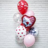 Воздушные Шары для любимых на 14 февраля