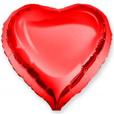 """Сердце 18""""/46 см """"Красный"""""""